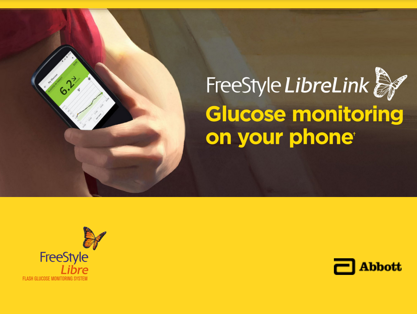 Glucose Sensor - Feature Product Abbott FreeStyle Libre